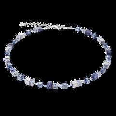 4932101700   |   Halskette Hämatit & Edelstahl silber
