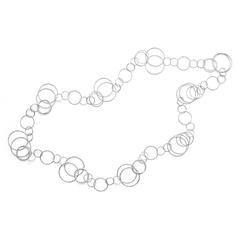 12880   -   Collier | Sterlingsilber 90 cm Charakterstarker Schmuck aus vielzähligen Einzelgliedern