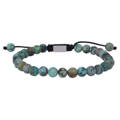 898 010   |   SON Armband African Turquoise matt 19-25cm