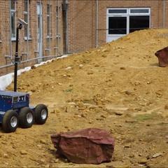 Los robots han sido creados en colaboración con RAL Espacio (que trabajan junto a la Agencia Espacial del Reino Unido - UKSA), un centro líder en el mundo para la investigación y desarrollo de tecnologías de exploración espacial.