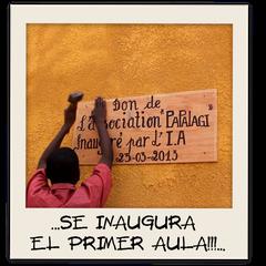 ... SE INAUGURA EL PRIMER AULA!!!