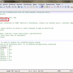Die markierte Zeile entsprechend mit Notepad++ anpassen.