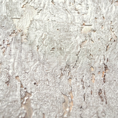 Korktapete silber