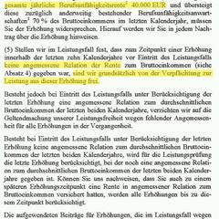 Alte Leipziger Dynamikbedingungen 2011