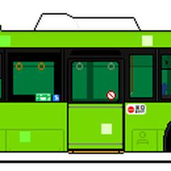 バス車両(撮影使用車)