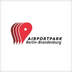 Airportpark Berlin Brandenburg, Logodesign: Portfolio Dorina Rundel - Grafikdesignerin