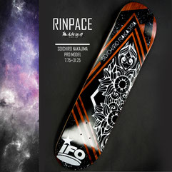 rinpace, rinpaeshidan, xola, art, artwork, design, skateboard, deck