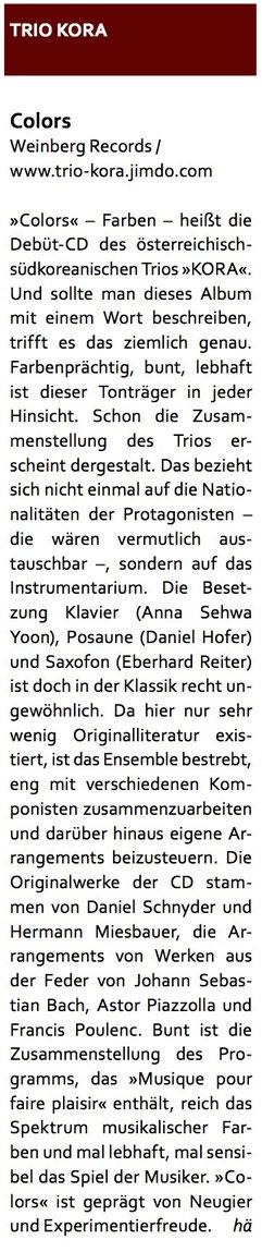 CLARINO - Das Fachmagazin für Blasmusik (Ausgabe 4/15)