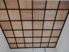 築90余年 古民家再生 洋間 格縁天井