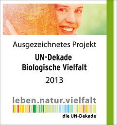 NAJU Kinderwettbewerb ist Projekt der UN-Dekade Biologische Vielfalt