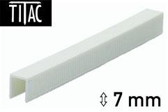 Plastikheftklammern - Kunststoffheftklammern Titac 7 mm