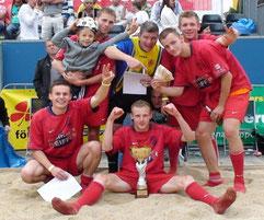2009 ... Sieg beim Beach-Cup in Halle/Saale