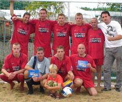 2008 ... 2.Platz beim Beach-Cup in Braunschweig
