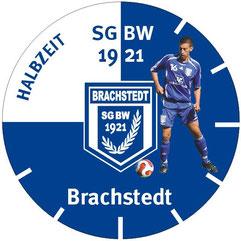 Uhr (ca. 25 cm) mit Spielermotiv