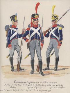 infanterie de ligne du Mecklembourg