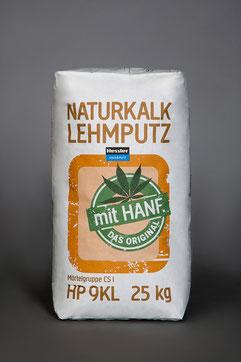Hessler, HP9KL, Naturkalk Lehmputz mit Hanf