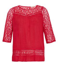 pastelgrünes T-Shirt für runde Frauen, Größe 42 bis 52