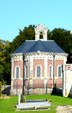 L'arrière de la chapelle de Villers aux Erables