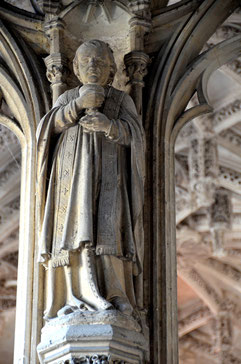 Saint Vulphy, chapelle du vestibule