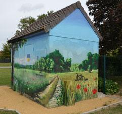 Longavesnes: fresque EDF