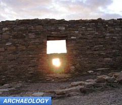 Chaco Canyon solar alignment fall equinox