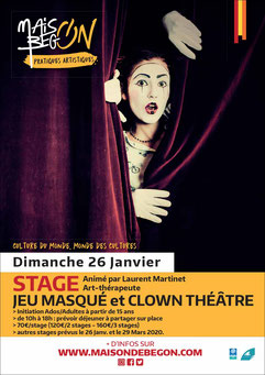 clown theatre avec laurent martinet, art therapie