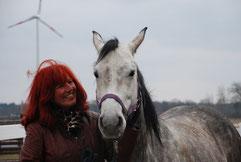 Annette Engelhardt und Prinzessin Amie - Ballermann Ranch Blockwinkel