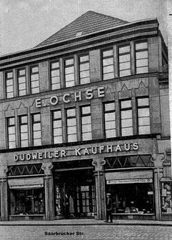 dudweiler, saarbruecken, kaufhaus, ochse