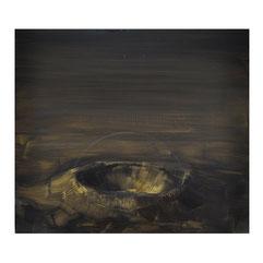 Krater, 35x40 cm, Öl auf MDF, 2017