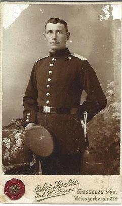 Opa Karl Thiel um 1914