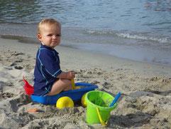 Am Strand von San Andrea
