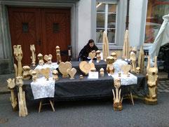 Unser Marktstand in Schwyz
