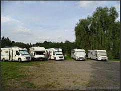 Parking de Cesky Krumlov
