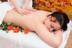 ayurvedische Rückenmassage