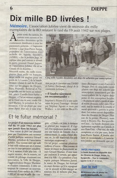Article du Paris Normandie du 1er Août 2014