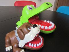 Krokodylek i pies