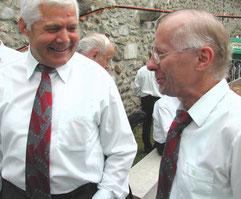 Heiri Suhm und Alois Bernet