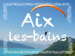 Voler en parapente à Aix-les-bains