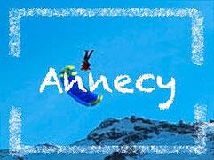 parapente Annecy