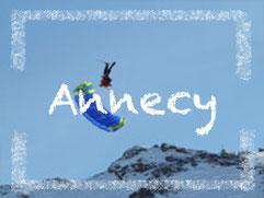 Voler en parapente à Annecy