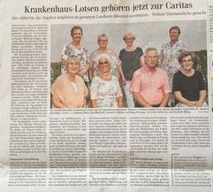 Artikel in der SZ Biberach, 1.9.2018