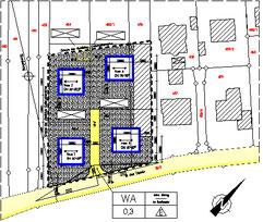 Städtebau - Bebauungsplan - Architektur Erik Lorenz  Merzhausen  Freiburg