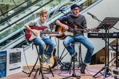 Music Secrets Gitarren Live bei der Messe Nürnberg 2016