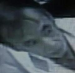 防犯カメラに写った犯人の画像②