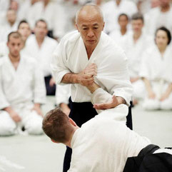 Hayato Osawa Shihan 8. Dan Aikikai