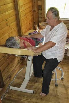 Soin énergétique et massage