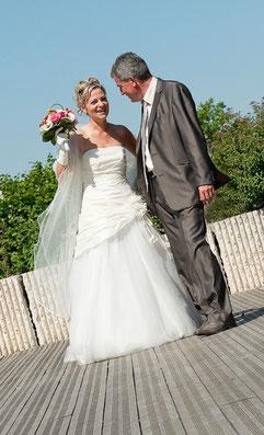 les photos du mariage de virginie et philippe