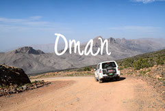 Travel destinations Oman