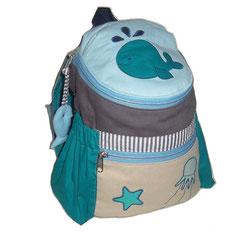 Rucksack für Kleinkinder mit Wal