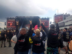 Rock am Ring / Laura, Jana, Leon